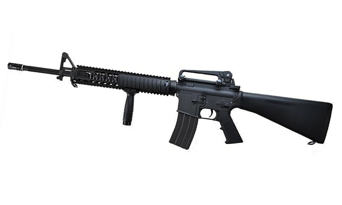 E&C M16A4 Full Metal AEG (Colt) EC-307 Black