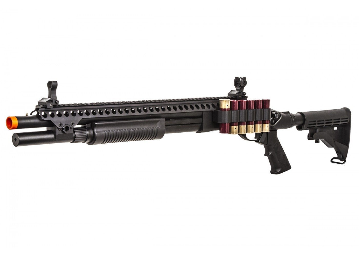 jag arms scattergun sp gas shotgun airsoft gun