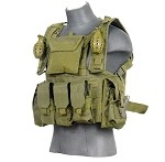 Lancer Tactical CA-307G Modular Chest Rig -  Olive Drab