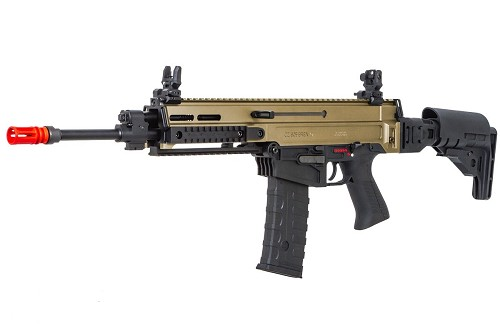 ASG Fully Licensed CZ 805 Bren-A1 Carbine Airsoft AEG - TWO TONE DESERT