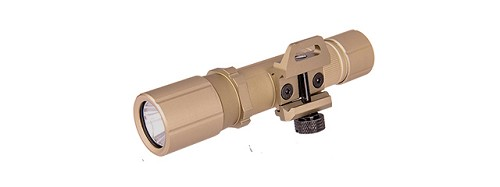 Lancer Tactical FAST501R-BK TACTICAL 800-LUMEN PICATINNY WEAPON LIGHT (TAN)