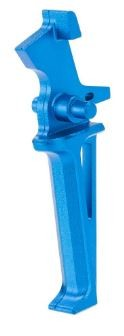 Krytac Licensed CMC Flat Trigger Assembly (Colour: Anodized Blue)