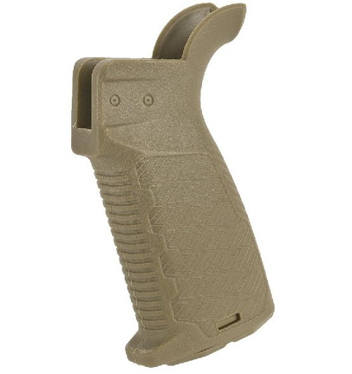 Strike Industries AR enhanced pistol Grip - FDE - for GBB