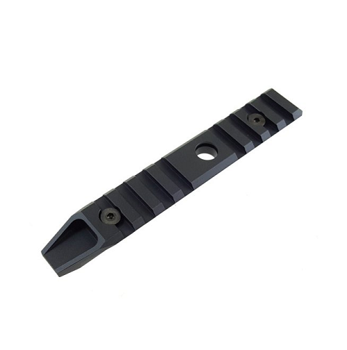 "Armyforce CNC Aluminum URX 7"" Keymod Rail - Black"