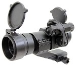 AMP Tactical Military Red/Green Dot Scope w Cantilever Mount