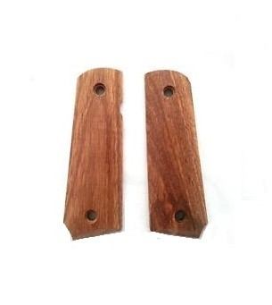 Bell M1911 Rose Wood Pistol Grip Cover Set