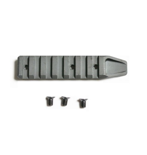 APS METAL KEYMOD 7 SLOT Rail - BLACK