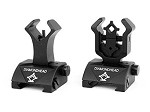 A.C.M. Diamond Head Style Flip Up Sight Set