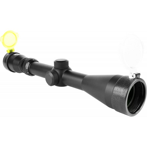 AIM SPORTS TACTICAL SERIES 3-9X40MM RIFLESCOPE W/ P4-SNIPER RETICLE