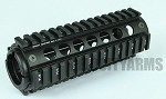 Element Midwest Style MCTAR-17 Rail System - BLACK