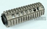 Element Midwest Style MCTAR-17 Rail System - SILVER
