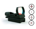 A.C.M. Electro Red 4 Reticle Reflex Sight (BLACK)
