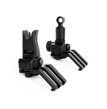 KAC Type 45 Degree Offset Backup Sight - (Black)