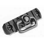APS M-LOK Plate with QD Sling Swivel - Black