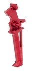 Krytac Licensed CMC Flat Trigger Assembly (Colour: Anodized Red)