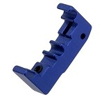Airsoft Masterpiece Aluminum Puzzle Trigger - Base - BLUE