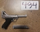 WE Luger Silver **CLEARANCE(494)