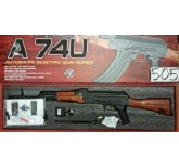 JG AK74 Full Metal Body Real Wood Furniture with EBB (electric blowback) - CANADA Version **CLEARANCE(505)