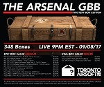 Mystery Box 2017 - THE ARSENAL GBB EDITION (CANNOT BE ORDERED WITH ANY OTHER ITEMS)