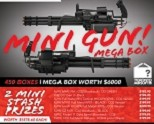 Mystery Box 2018 - The Mini-Gun Mega Mystery Box (CANNOT be ordered with any other items)