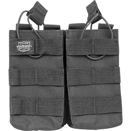 Valken V Tactical Magazine Pouch M4 AR Double - BLACK