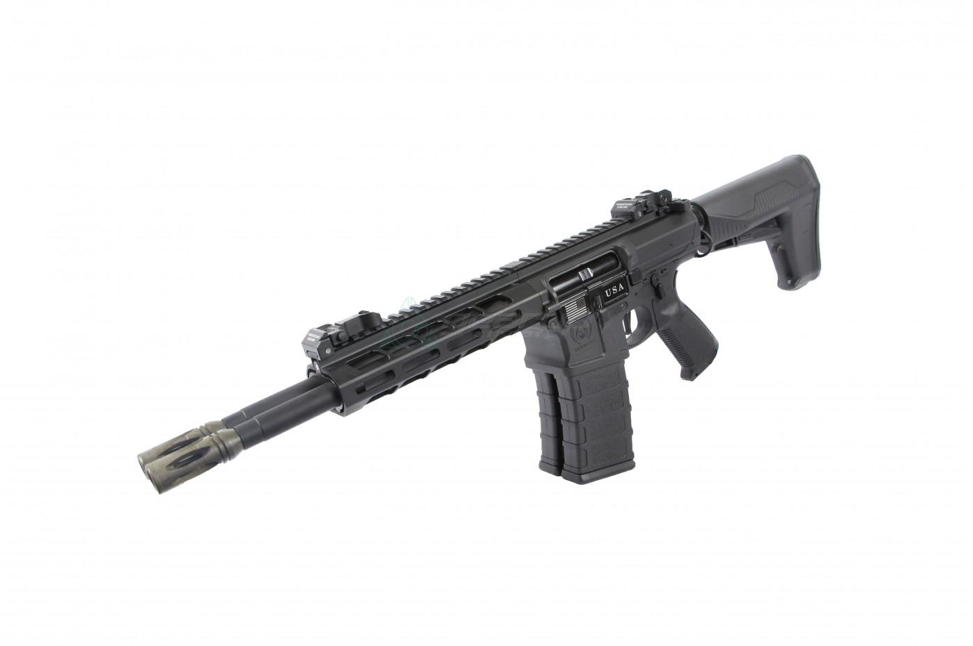 Airsoft 5KU Metal Outer Barrel Carbine Length 290mm For M4 M16 M-Series AEG
