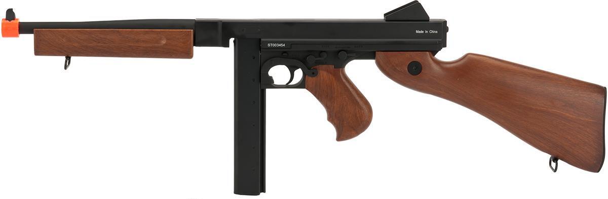 CYMA M1A1 Metal Thompson SMG (Mock Wood) - US Version