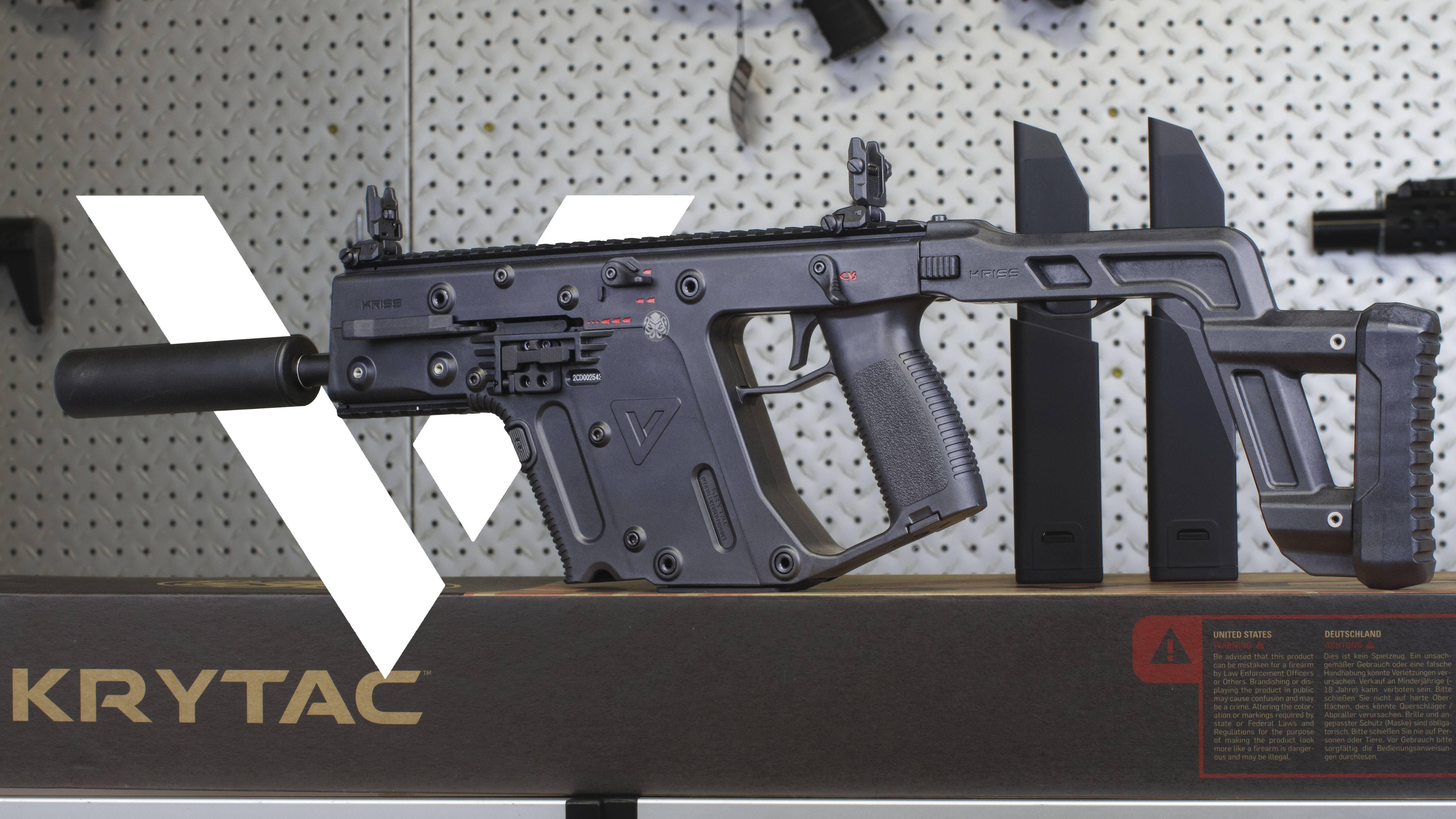 KRYTAC Kriss Vector Officially Licensed AEG - Canada Version