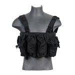 Lancer Tactical CA-308B AK Chest Rig - BLACK
