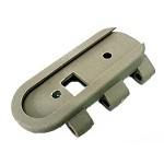 DBOYS SCAR Stock replacement hinge plate - TAN