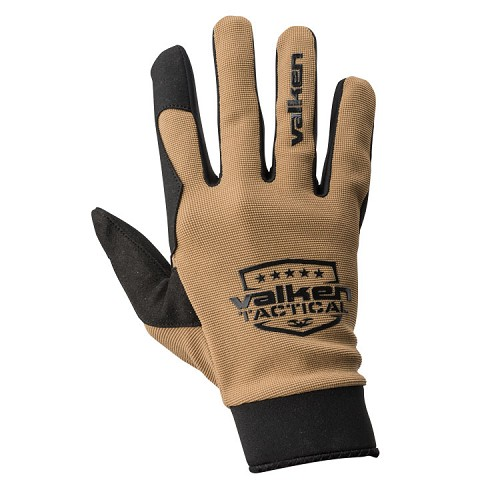 Valken Sierra II Gloves - Tan - SMALL