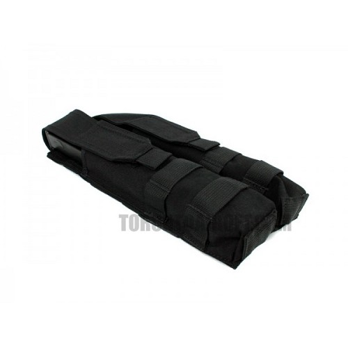 ESKI P90/UMP Double Magazine Pouch - Black