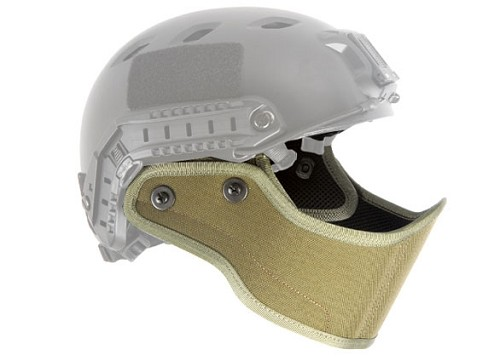 Lancer Tactical FAST Helmet Armour Face - GREEN
