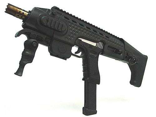 APS Caribe Conversion Kit Black for Glock