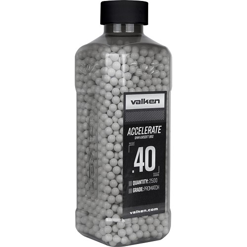Valken ACCELERATE 0.40g 2500ct - White