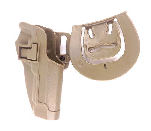 ACM - Blackhawk Style CQC Hard Plastic Holster for M92 - TAN
