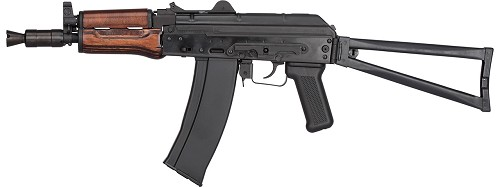 GHK AK GKS74U Gas Blowback AK74U Airsoft Rifle (WOOD)