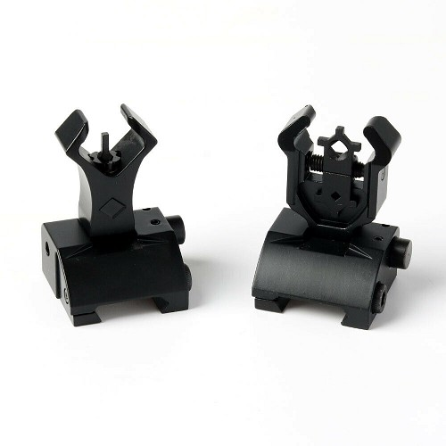 CYMA Diamond Head Style Flip Up Sight Set
