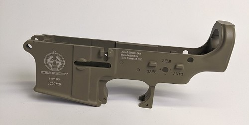 ICS M4 Lower - TAN **CLEARANCE