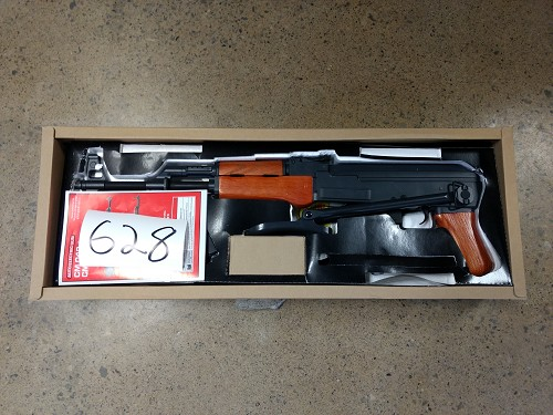 CYMA AK47S Full Metal - Real Wood (FLIP UP STOCK) - Asia Version ** CLEARANCE (628)