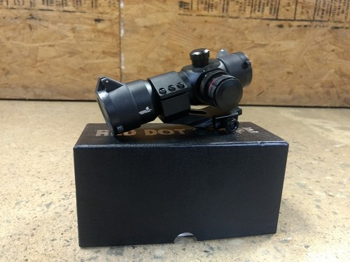 Lancer Tactical RED & GREEN DOT SCOPE w/Offset mount - 4 RETICLES *GRAVEYARD CLEARANCE* (689)