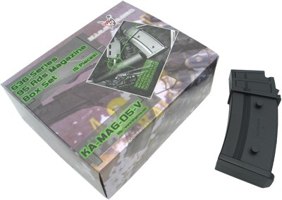 King Arms G36 95 Rounds Magazines Box Set (Box of 5)