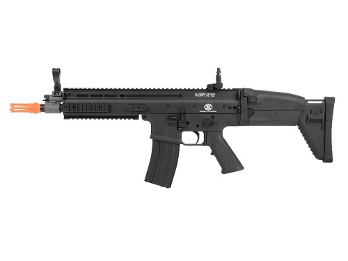 Cybergun FN Herstal Licensed SCAR Airsoft AEG Rifle made by CYMA - BLACK