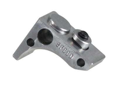 Speed Airsoft KeyMod Front Stop Flat - Silver