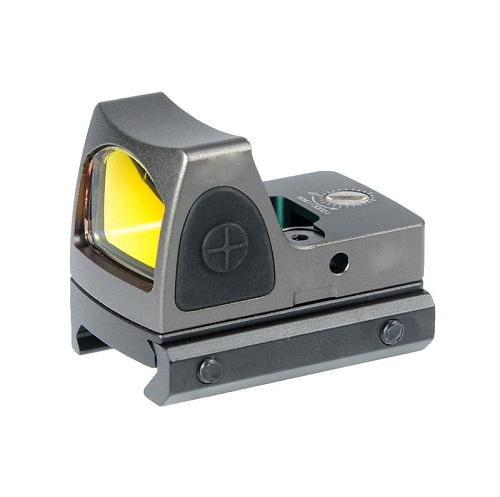 RMR Red dot sight with Picatinny and Glock mount - GREY