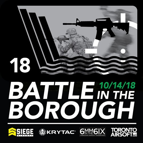Battle in the Borough 2018 - Game Ticket! FREE BONUS! Walk-ons Welcome