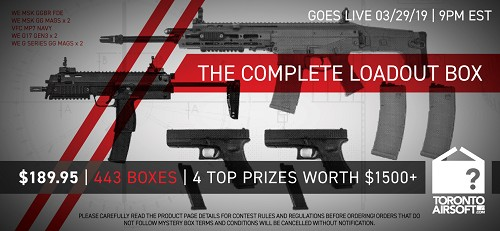 Complete Load Out Mystery Box Grand Prize Package