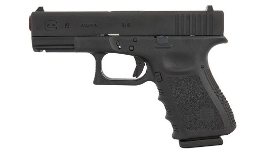 Elite Force Fully Licensed GLOCK 19 Gen.3 Gas Blowback Airsoft Pistol by VFC
