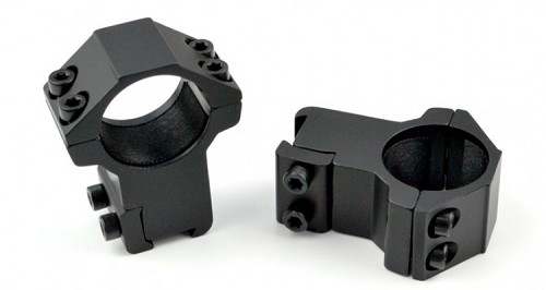 "Sniper 1"" High Profile Scope Rings For Dovetail System"