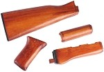 APS 47 Type REAL WOOD Hand Guard Set with Stock